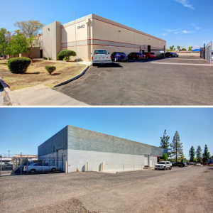 Two industrial buildings were sold by Menlo Group