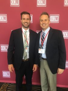 Steve Berghoff & Mark Haslip of Menlo Group earned the CCIM designation