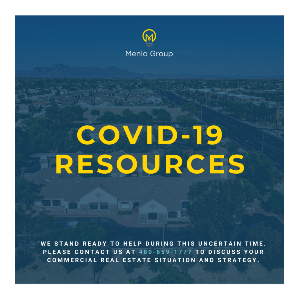 Contact Menlo Group to discuss your real estate strategy during the COVID-19 crisis